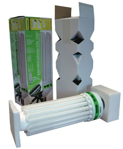 envirogro pflanzenlampe 250 w cfl lampe 6400 k test. Black Bedroom Furniture Sets. Home Design Ideas