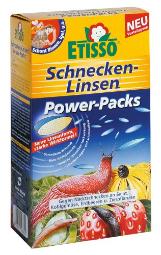 etisso schneckenabwehr linsen 4x200g power packs test. Black Bedroom Furniture Sets. Home Design Ideas
