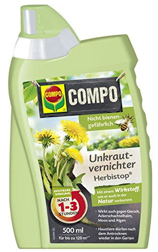 compo 26520 unkrautvernichter herbistop 500 ml test. Black Bedroom Furniture Sets. Home Design Ideas