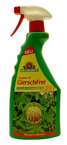 neudorff unkrautvernichter finalsan gierschfrei 750ml test. Black Bedroom Furniture Sets. Home Design Ideas