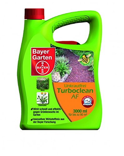 bayer unkrautvernichter turboclean 3l af test. Black Bedroom Furniture Sets. Home Design Ideas