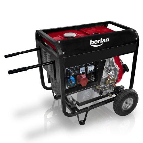 berlan 4 5 kw diesel stromerzeuger test. Black Bedroom Furniture Sets. Home Design Ideas
