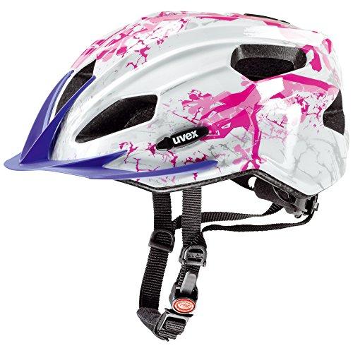 uvex kinder fahrradhelm quatro gecko pink 50 55 cm test. Black Bedroom Furniture Sets. Home Design Ideas