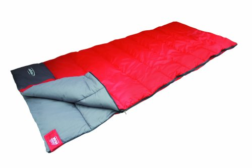 high peak schlafsack ranger rot dunkelgrau 20055 test. Black Bedroom Furniture Sets. Home Design Ideas