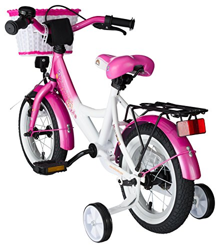 bikestar premium kinderfahrrad ab 3 jahren pink u wei test. Black Bedroom Furniture Sets. Home Design Ideas