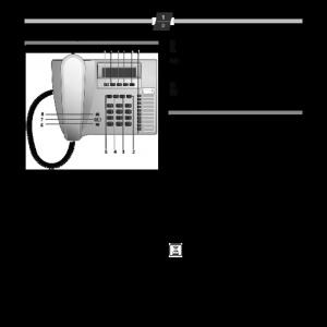 Bedienungsanleitung Siemens Euroset 5035 Komfort-Telefon schwarz