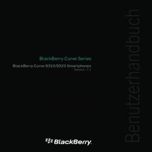 Bedienungsanleitung Blackberry Curve 9320 Smartphone schwarz