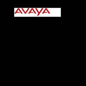 Bedienungsanleitung Avaya 3720 Mobilteil schwarz