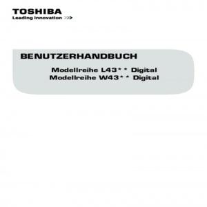 Bedienungsanleitung Toshiba 32L4333DG LED TV