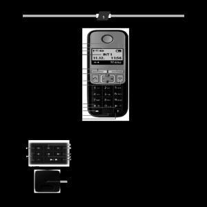 Bedienungsanleitung Gigaset A400A Schnurlostelefon (4.32 cm (1.7 Zoll)